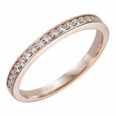 Juliet ArtCarved Diamond Wedding Ring
