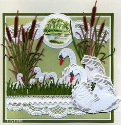 Voorbeeldkaart - Voorjaar 2 - Categorie: Stansapparaten - Hobbyjournaal uw hobby website
