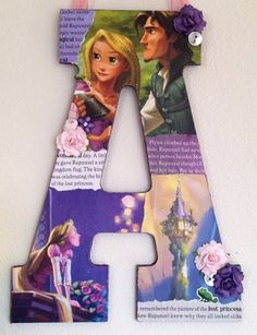 Hey, I found this really awesome Etsy listing at https://www.etsy.com/listing/190294026/any-letter-in-rapunzel-from-tangled