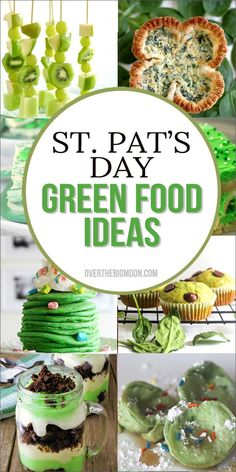 Green Food Ideas for St. Patrick's Day - ideas for all meals! From Over the Big Moon ., patricks day dinner recipes irish meals Green Food Ideas for St. Patrick& Day - ideas for all meals! From Over the Big Moon . St Patricks Day Essen, St Patricks Day Food, Saint Patricks, Irish Desserts, Irish Recipes, Irish Meals, Dinners For Kids, Kids Meals, Parsnip Recipes