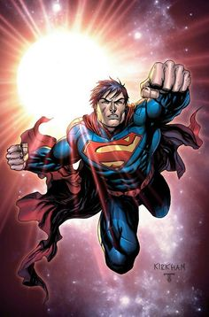 Superman by Tyler Kirkham #superman #dc #comics #hero