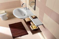 Colordesign Beige Bathroom, Beige Color, Tile Design, Porcelain Tile, Bath Caddy, Facade, Home Improvement, Flooring, Interior