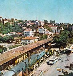 KÜÇÜKÇEKMECE TREN İSTASYONU 1960