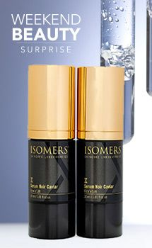 Isomers Skincare Serum Noir Caviar Firm N Lift Duo 1 01 Oz Each On Sale At Shophq Com Isomers Skincare Skin Care Serum Skin Care