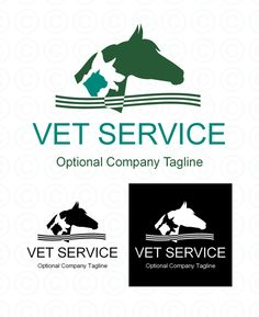 Vet Logo for SALE Total Product Price: $277.00 Initial Design Deposit: $30.00 Ready made Vet Logo design in two colors and one color. You may choose the main colors. With the $30 deposit you will receive a proof file of the logo design with your company or organization's name and colors. http://www.horse-logos.com/horse-logos-c-2/stock-logos-c-2_4/exclusive-logos-c-2_4_7/equine-veterinarian-logos-c-2_4_7_10/veterinary-logo-3-p-31.html