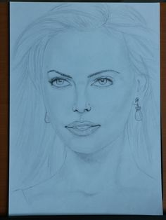 Charlize Theron, Drawing for fun