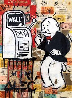 Alec Monopoly...repeat stimulus junkie....