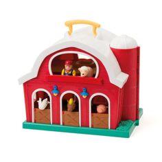 Grande ferme pliable pour enfant de 1 an et demi à 3 ans - Oxybul éveil et jeux