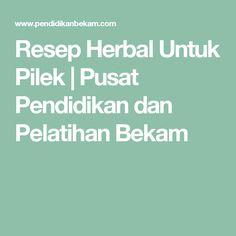 Resep Herbal Untuk Pilek   Pusat Pendidikan dan Pelatihan Bekam