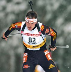 Sven Fischer- Germany. 8 Medals - 4 Gold, 2 Silver, 2 Bronze. Biathlon.