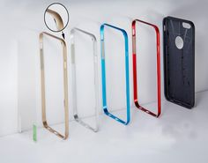 Kit Cover Frame for iPhone 6 and iPhone 6 plus, bumper close back only on http://www.ebay.it/usr/skycover2015