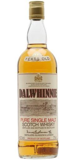 Dalwhinnie 8 yo Pure Single Malt Scotch whisky bottled in 80's.