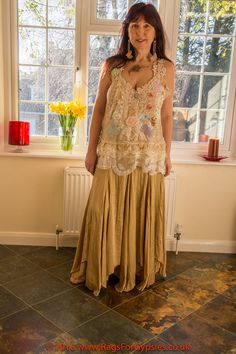Adella Bohemian Up-cycled Recycled Gypsy by RagsForGypsies on Etsy