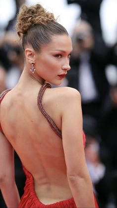 Bella Hadid Bella Hadid Hair, Bella Gigi Hadid, Bella Hadid Style, Magazine Mode, Alicia Vikander, Cannes Film Festival, Belle Photo, Supermodels, Fashion Beauty