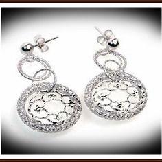 Boucles d'oreilles femmes argent 925