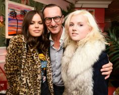 #AtlantadeCadenetTaylor, #BrunoFrisoni and photographer #OliviaBee hosting #RogerVivier #NYC Virgule party.