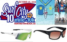 #running #10mile #10miler Looking for a half marathon training WARMER UPPER in California?! USE DISCOUNT CODE HALFMARATHONCLUB5 for $5.00 discount off the Surf City 10 Miler AND your name will automatically be entered into a raffle drawing for a sweet pair of Spy Optic Sunglasses! Offer Ends 10/20/2014.  RACE DATE Oct 26th, 2014. http://www.surfcity10.com/