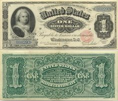 1 silver dollar. Wow.