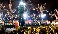Európa 15 legelbűvölőbb karácsonyi vására | Pink Domina Christmas Tree, Holiday Decor, Pink, Home Decor, Dominatrix, Teal Christmas Tree, Decoration Home, Room Decor, Xmas Trees