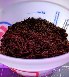 This is our custom blended WONDER SOIL® 3 wafers. We have specified this blend of coir, worm castings and kelp as the growing media in our daily