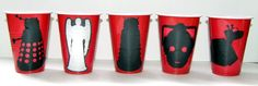 Doctor Who Party Cups