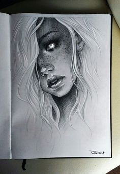 Ideas for tattoo girl face draw character design - - tattoo girl drawing Ideas for tattoo girl face draw character design Realistic Pencil Drawings, Cool Drawings, Creepy Drawings, Drawings Of Girls Faces, Face Drawings, Art Drawings Beautiful, Creepy Art, Draw On Picture App, Draw Character