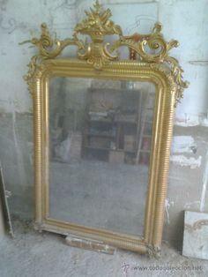 estilos espaoles muebles estilos espejo isabelino xix furniture espejos romnticos romantic mirrors