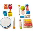 Haba musical instruments big sound workshop - all instruments included Musical Instruments, Musicals, Triangle, Workshop, Big, Atelier, Work Shop Garage