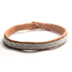 Sami style Bracelet TWISTED braid Antler by simplyyoujewelry, $54.00