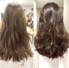 Haircuts For Long Hair With Layers, Long Layered Haircuts, Haircut For Thick Hair, Long Hair With Bangs, Long Hair Cuts, Long Layerd Hair, Long Hair Short Layers, Medium Hair Styles, Curly Hair Styles