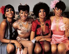 For Sale on - Pointer Sisters London England 1973 Archival Pigment Print by Mick Rock. Offered by Morrison Hotel Gallery. Black Girl Fashion, 70s Fashion, Fashion Hair, Style Fashion, Black Girl Magic, Black Girls, Shoulder Tattoos For Women, Vintage Black Glamour, Vintage Beauty