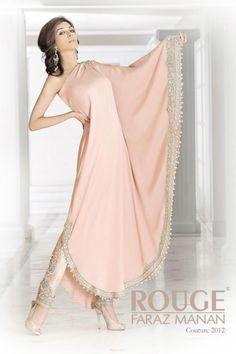 Pakistani model Iman Ali in Faraz Manan; http://farazmanan.com/