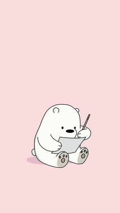 Cute HD Phone Wallpaper - - DIY Tips and Hacks by Else - Hintergrundbilder Cute Panda Wallpaper, Cute Wallpaper For Phone, Bear Wallpaper, Kawaii Wallpaper, Cute Wallpaper Backgrounds, Pastel Wallpaper, Wallpaper Ideas, Phone Wallpapers Tumblr, Panda Wallpapers