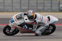 From Vroom Mag... Rain hinders qualifying for Jorge Martin at COTA