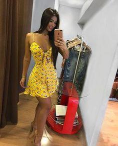 Quando o look é a cara do verão #lookdodia #primaveraverao2018 #modafeminina #lojacasual