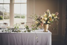 Spring Wedding At Boconnoc Cornwall With Flowers By The Garden Gate Flower Company With Bride In Handmade Dress And Images From Amy Shore Photography