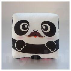 Decorative Pillow Mini Pillow Kawaii Animal Print Toy by mymimi, $18.00
