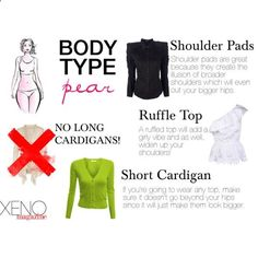Dress For Your Body Type: Pear by delightoftheyoung on Polyvore