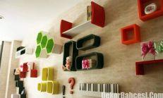 Dekoratif Duvar Raflarıyla Evleriniz de Fark Yaratın
