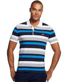Lacoste Pique Stripe Polo