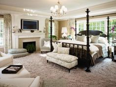 love this bedroom by Mitchell Gold