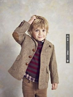 Rustic blazer with elbow-pads