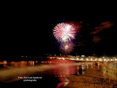 Los fuegos de San Juan 2014 en Las Canteras
