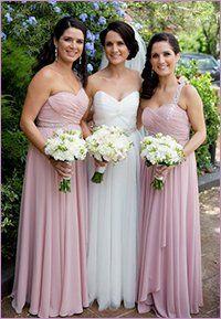 Bridesmaids wear SD035 by Jadore