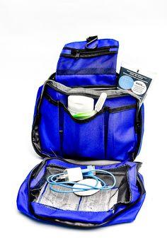 TRAVEL BAG BLUE  RP 80.000