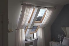 Window dressing for velux windows- this is what I had in mind