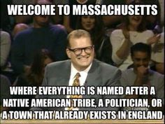 Welcome to Massachusetts......