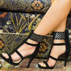 Jessica Simpson Ankle Strap High Heels Celsus