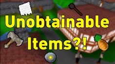 RuneScape Classic's Mysterious Unobtainable Items [Video]