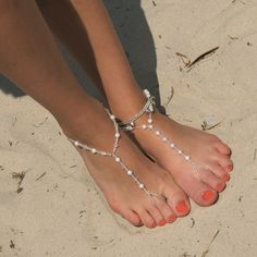 Pearl Barefoot Sandals